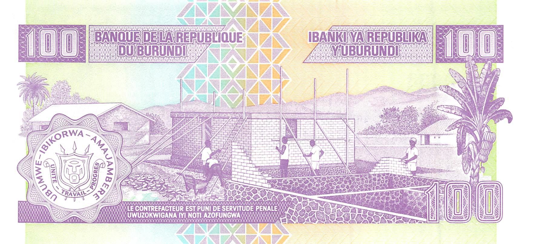 100 euro banknote 2019 UNC Prefix-R Germany