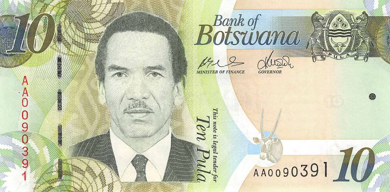 Botswana 10 Pula 2009 Unc
