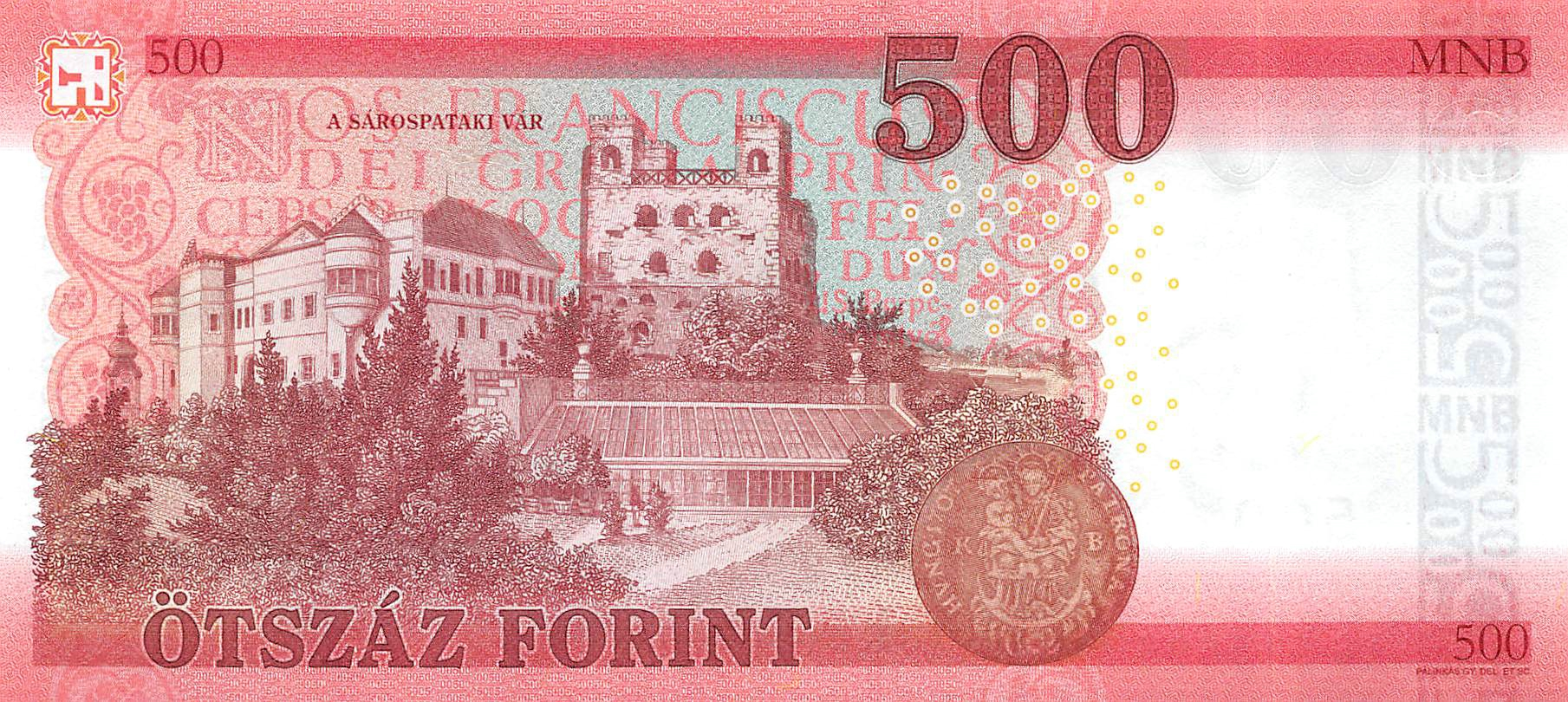 Hungary 5 pcs x 500 Forint 2018 2019 UNC Lemberg-Zp