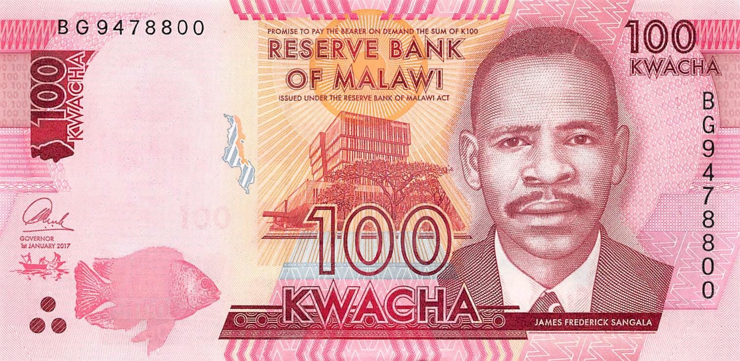 Malawi Africa 2004 UNC /> Old Design P-52a 20 Kwacha