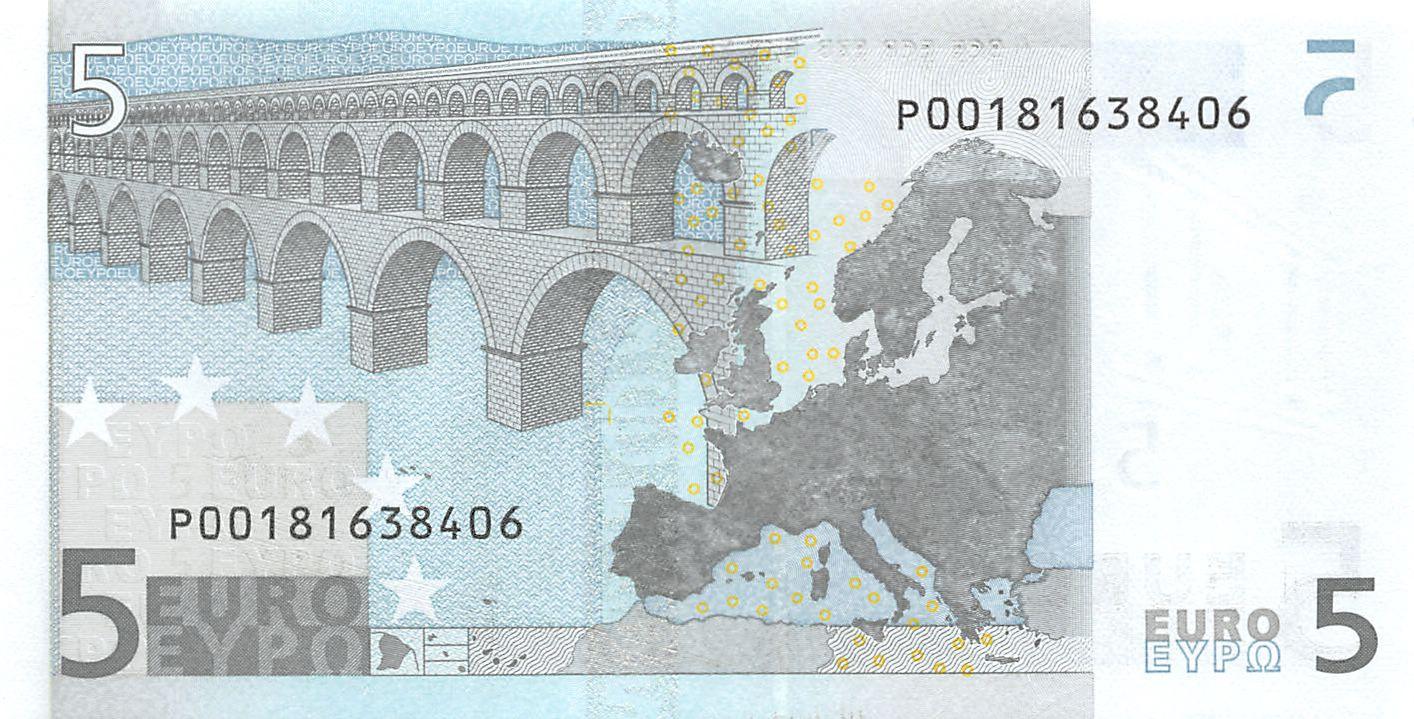 Europa 5 Euro Netherlands 2002 Unc