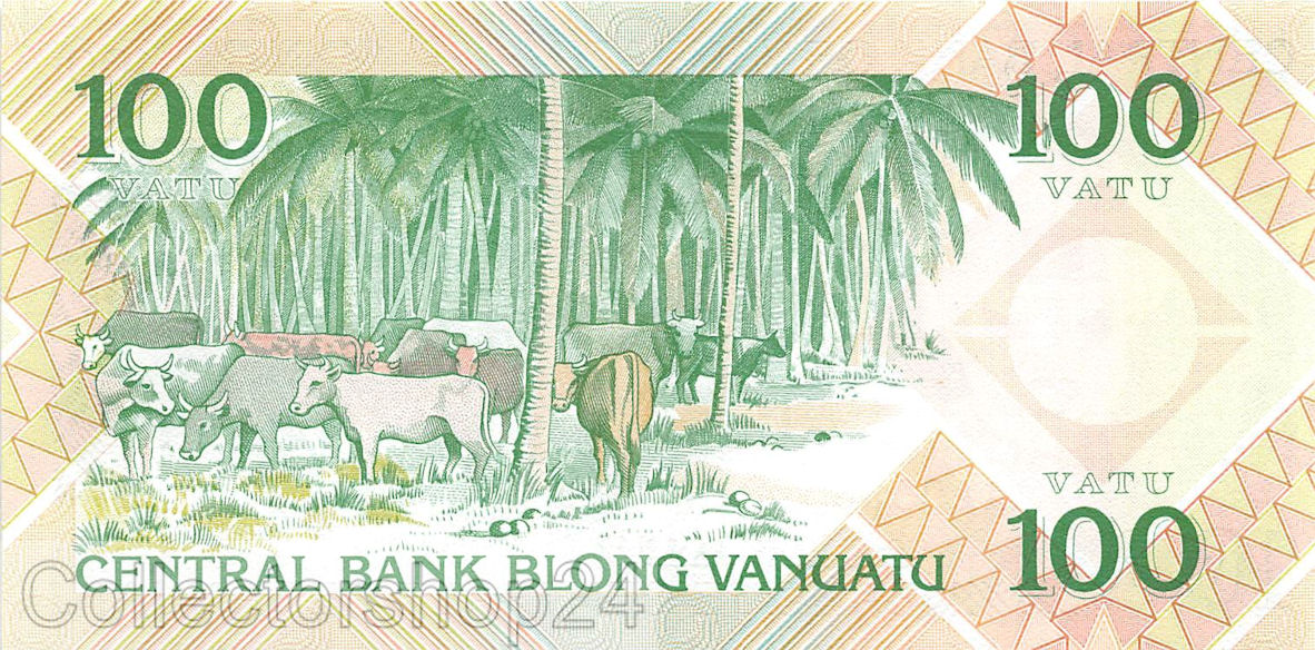 Vanuatu 100 vatu 1982 UNC