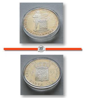 NETHERLANDS UTRECHT 1 DOMMETJE 1992 UNC Complete Set of 5 coins B3